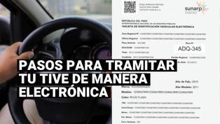 Sunarp: ¿Cuánto costará tramitar la nueva Tarjeta de Identificación Vehicular Electrónica?