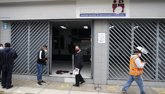 Las tachas para el proceso de ONPE y el Reniec están referidas a cuestionar el incumplimiento de los requisitos que deben cumplir los candidatos. (Foto: GEC)