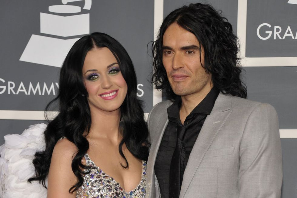 Katy Perry and Russell Brand met at the 2009 and were married until 2011. The comedian asked the marriage to the singer (Picture: AFP)