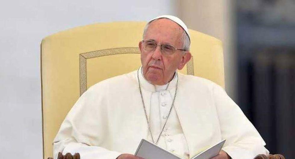 """Ignorar a su hijo o hija con tendencias homosexuales es un defecto de paternidad o de maternidad"""" señaló el papa Francisco. (Foto: AFP)"""