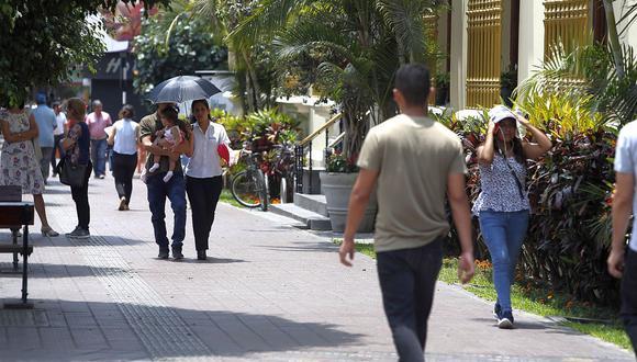 En Lima Oeste, la temperatura máxima llegaría a 25°C, mientras que la mínima sería de 17°C. (Foto: GEC)