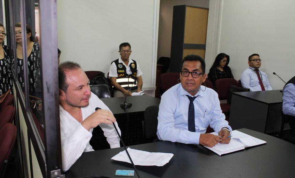 Junior Gálvez Aliaga fue capturado el domingo en Lima.