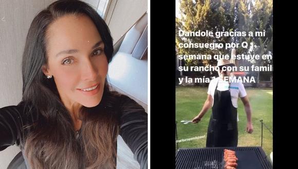 Sharis Cid habla del video que habría generado problemas en el matrimonio de Arturo Peniche y Gabriela Ortiz. (Foto: Instagram / @shariscid).