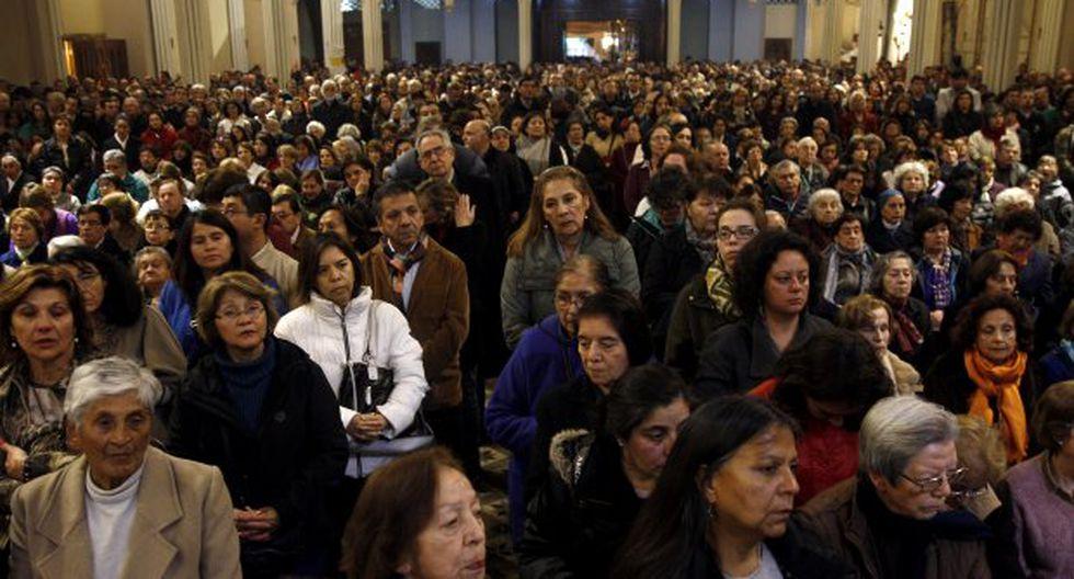 Se triplicó el número de personas que no se identifica con una religión, desde un 7 % a un 24 % en 20 años. (Foto: EFE)