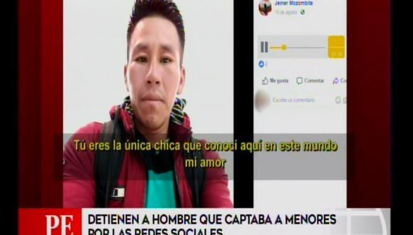 Detienen a sujeto que captaba a menores de edad por Facebook.