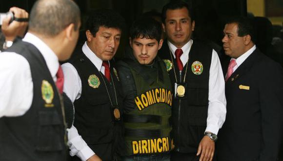 Asesino. Bryan Romero Leiva fue llevado al Ministerio Público. (Rochi León)