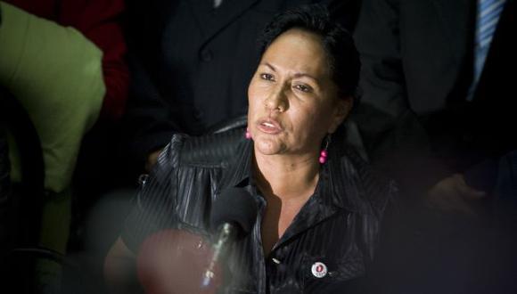 Malpartida fue parlamentaria andina durante el gobierno de Ollanta Humala. (Luis Choy)