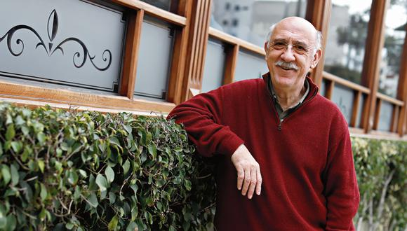"Gianfranco Brero: ""Tenía miedo a que me dijeran que no era bueno actuando"". (César Campos)"
