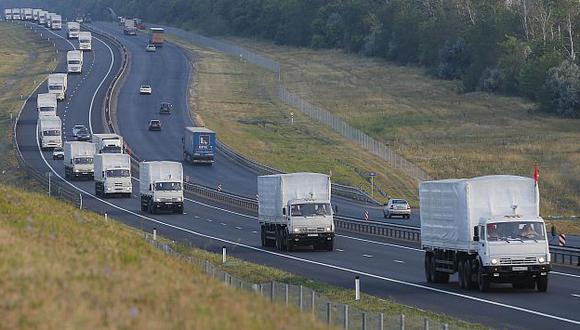 Kiev cede y acepta convoy de ayuda humanitaria de Rusia. (Reuters)