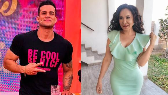 """""""En el set, entramos en debate, pero eso es parte del programa"""", dio Christian Domínguez sobre Janet Barboza. (Instagram)"""
