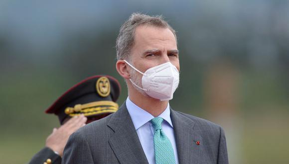 El rey Felipe VI de España viajará al Perú la próxima semana. (Foto: RODRIGO BUENDIA / AFP).