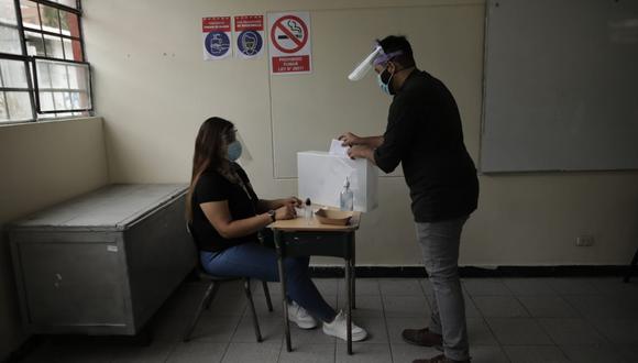 La jornada electoral en Perú, del domingo 11 de abril, se desarrollará en medio de la pandemia a causa del COVID-19. (Foto: Anthony Niño de Guzmán / @photo.gec)