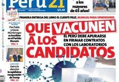 Que vacunen a los candidatos