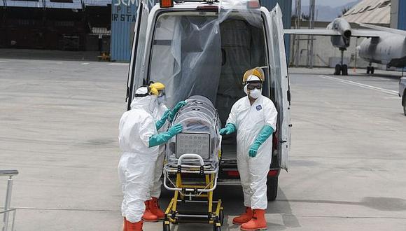 La curva de muertes por coronavirus en el país sigue en ascenso. (Foto: GEC)