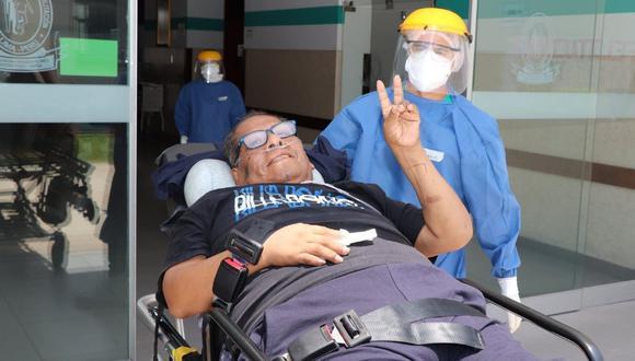 Cachuca fue llevado al Instituto Nacional de Rehabilitación 'Dra. Adriana Rebaza Flores'. (Difusión)