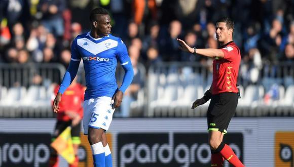 Mario Balotelli criticó a hinchas de Lazio por racismo. (Foto: Twitter)