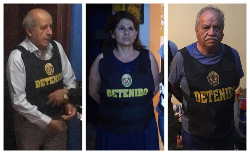 Operación ejecutada por la Policía Nacional y el Ministerio Público logró la desarticulación la organización criminal 'Los Nuevos Dueños del Sur'. (Fotos: Difusión)