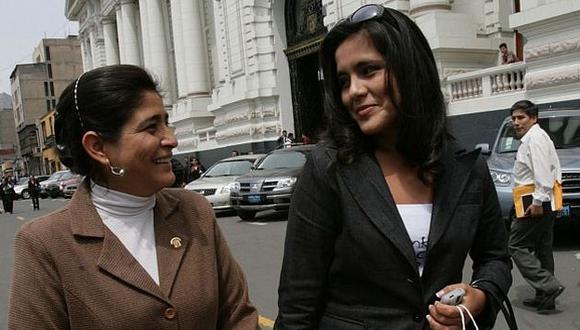 Excongresista y su hija tienen trabajo en el Congreso. (Luis Gonzales)