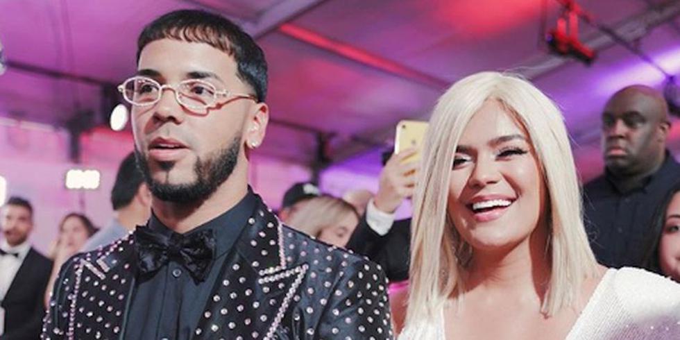 Anuel AA y Karol G responden en redes tras rumores de crisis en la relación (Instagram)