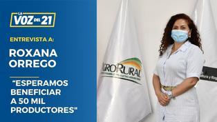 """Roxana Orrego Agro Rural: """"Esperamos beneficiar a 50 mil productores"""""""