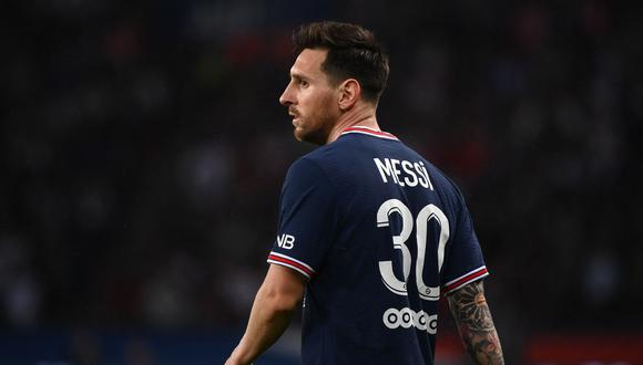 Lionel Messi ingresa a la lista del PSG vs. Manchester City por Champions League. (Foto: AFP)