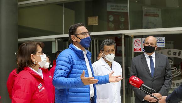 """Martín Vizcarra asegura que el contenido de los audios que protagoniza son evidencian """"nada ilegal"""". (Foto: Presidencia)"""