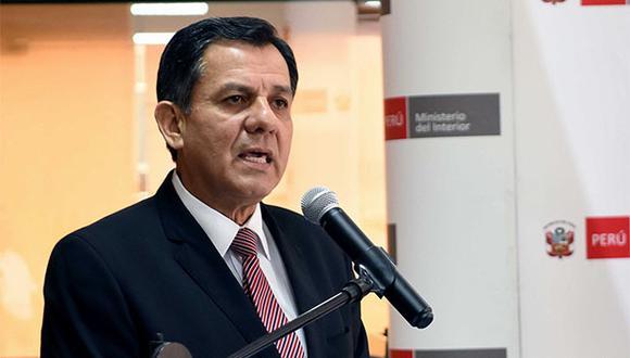 Ministro Mauro Medina espera que sentencia por atentado de Tarata debe garantizar seguridad de la población contra terroristas. (Foto: Agencia Andina)