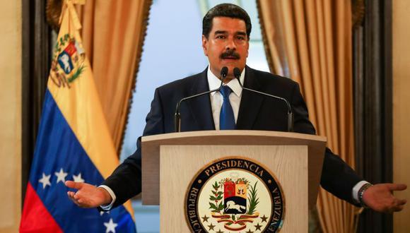 Al ser consultado sobre la posibilidad de celebrar nuevas elecciones presidenciales, Maduro dijo que ese tema no es una prioridad en el país. (Foto: EFE)