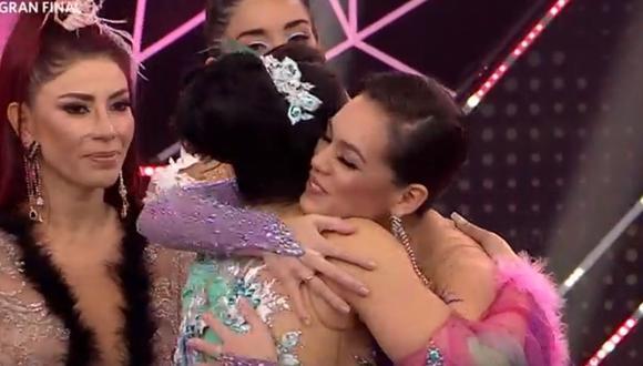 """Jazmin Pinedo era de las favoritas para la final de """"Reinas del Show"""". (Foto: Captura América TV)."""