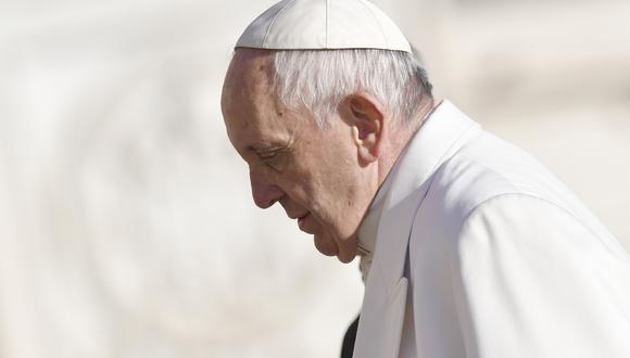 """Papa Francisco calificó las noticias falsas como """"satánicas"""" y que son """"tácticas de la serpiente"""". (AFP)"""