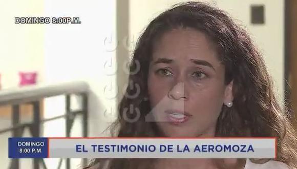 Aeromoza de Latam Airlines habló de manera pública en Punto Final. (Latina)
