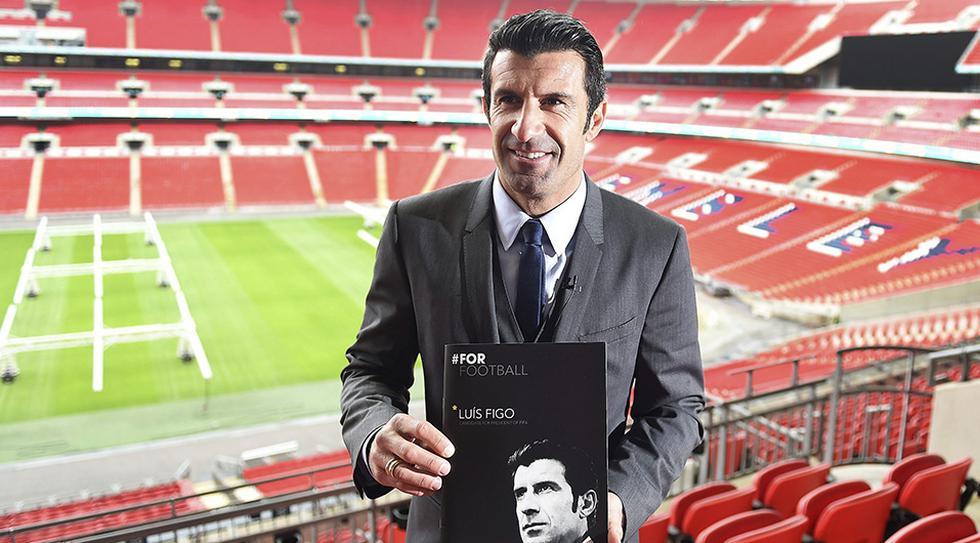Luis Figo, histórico con Portugal, es uno de los embajadores de la Eurocopa 2020. (Foto: AFP)