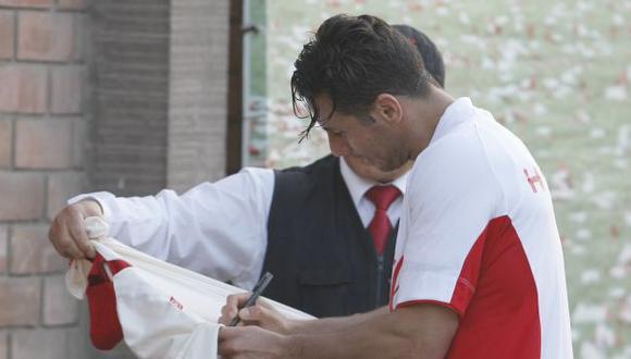 Pizarro firmó la crema. (Andrés Valle/USI)
