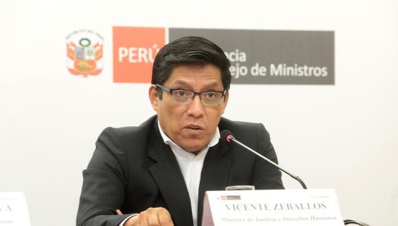 Vicente Zeballos pidió no caer en una situación de alarma.  (Foto: GEC)