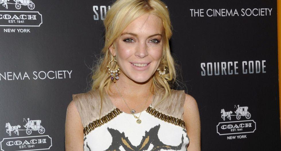 Lindsay Lohan demandará a empresa de videojuegos. (Internet)
