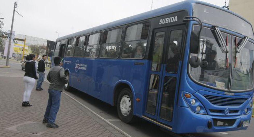 Buses serán desviados. (Mario Zapata)