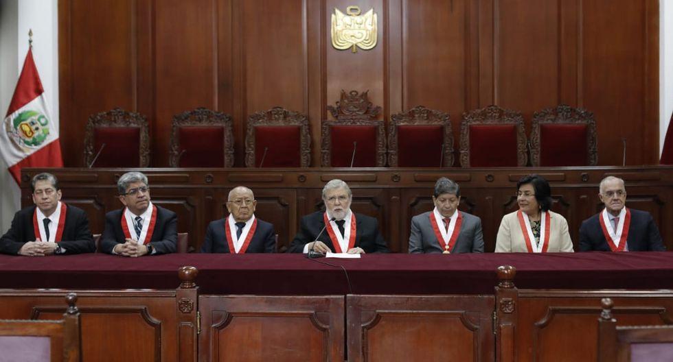 Pleno del TC elegirá al presidente de este órgano, pese a mandatos vencidos de seis de los siete magistrados. (Foto: GEC)