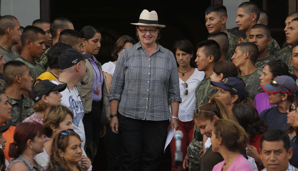 Palacio de Gobierno recolectó 973 toneladas de donaciones para damnificados. (David Huamaní)