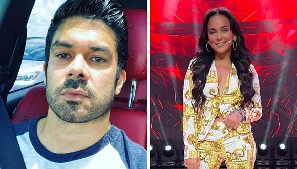 Daniela Darcourt y Jerry Rivera coincidieron en un evento en Estados Unidos. (Foto: Instagram)