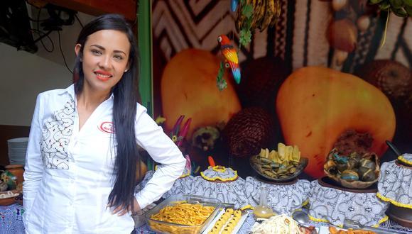 Annie Alvarado, la gerente es una emprendedora de Tarapoto, quien tuvo esta iniciativa para seguir en el trabajo de difusión de la comida amazónica.