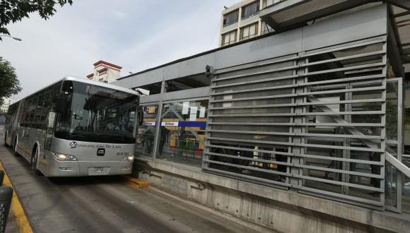 Cambian paradero final del servicio Expreso 3 del Metropolitano. (Perú21)