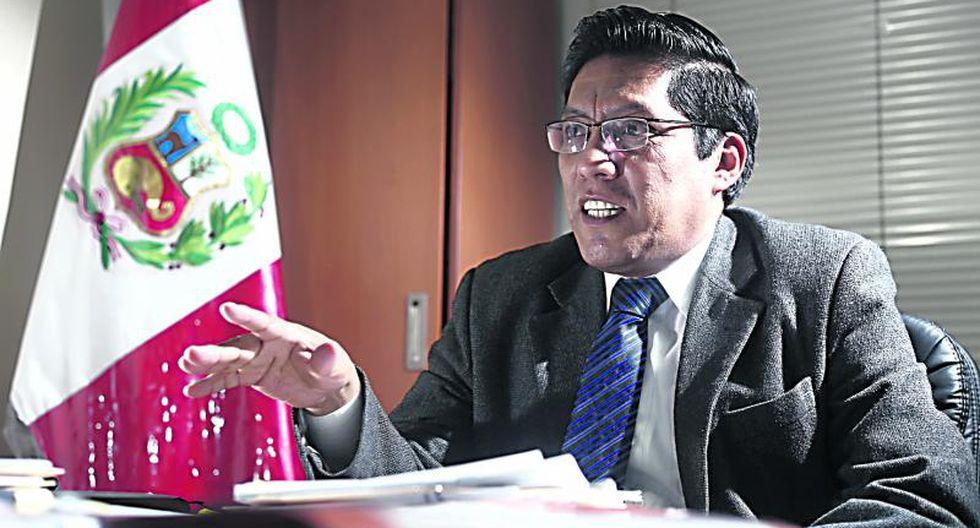 """Zeballos aseguró que el """"Gobierno garantiza la neutralidad en las elecciones"""" y una """"muestra de ello es que no se está participando en el proceso"""". (Foto: GEC)"""