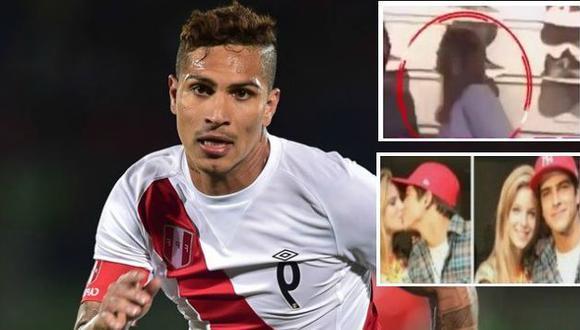 'Amor, amor, amor' ampayó a Paolo Guerrero y Thaísa Leal, pero salen a la luz fotos de la brasileña besando a otro hombre. (USI)