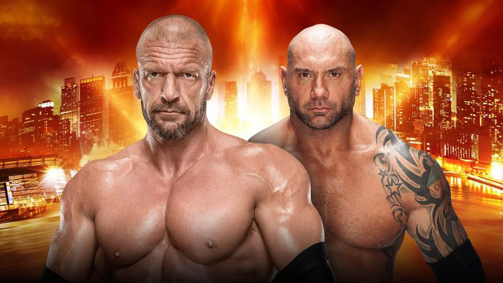 No Holds Barred Match - Triple H vs. Batista (Foto: WWE)