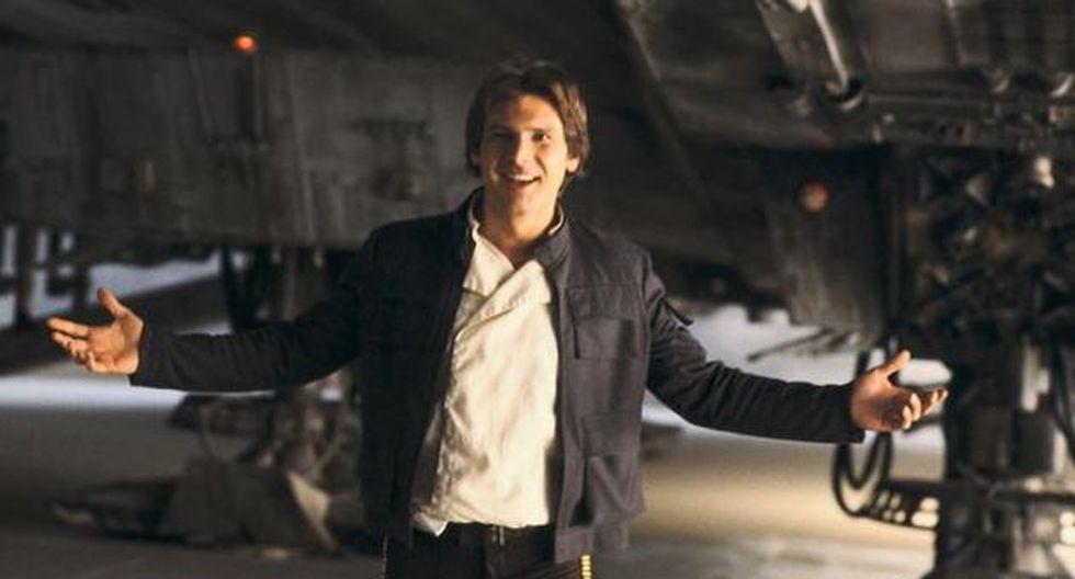 La casaca fue utilizada por Harrison Ford durante el rodaje de las escenas que tuvieron lugar en Ciudad Nube. (Star Wars)