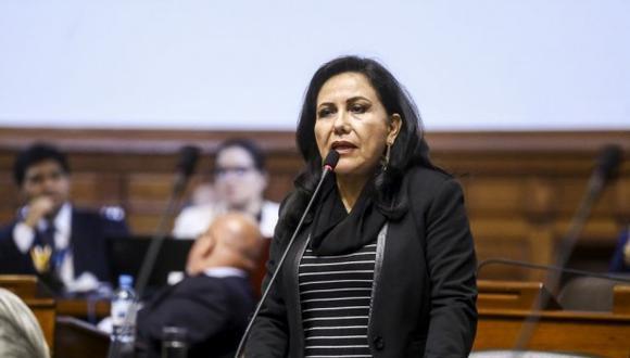 Ministra de la Mujer opinó sobre sorpresivo anuncio de Martín Vizcarra. (Foto: Congreso de la República)