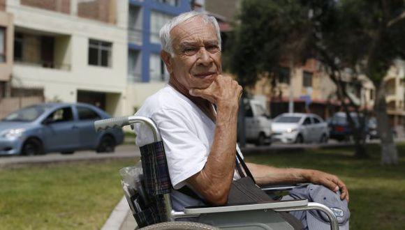 Eduardo Cesti acaba de recibir, del Congreso, la pensión de gracia.
