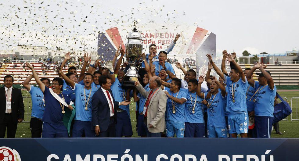 Deportivo Llacuabamba se coronó campeón de la Copa Perú tras empatar con Carlos Stein. (Fotos: Renzo Salazar)