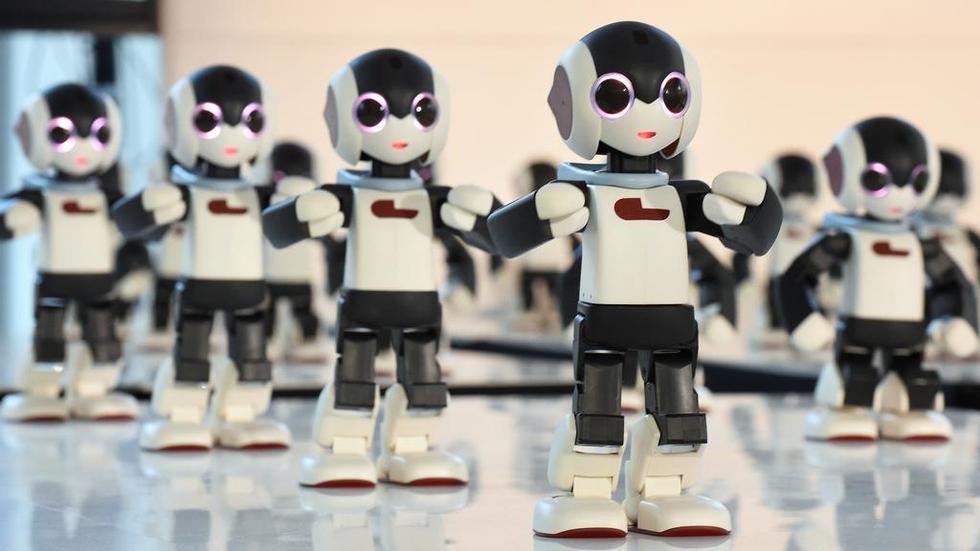"""Para Joi Ito, los robots """"siempre han sido parte de la psique japonesa"""". (Foto: AFP)"""