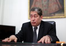 """Eloy Espinosa-Saldaña: """"Tenemos el poder de paralizar el trámite del proceso de vacancia"""""""